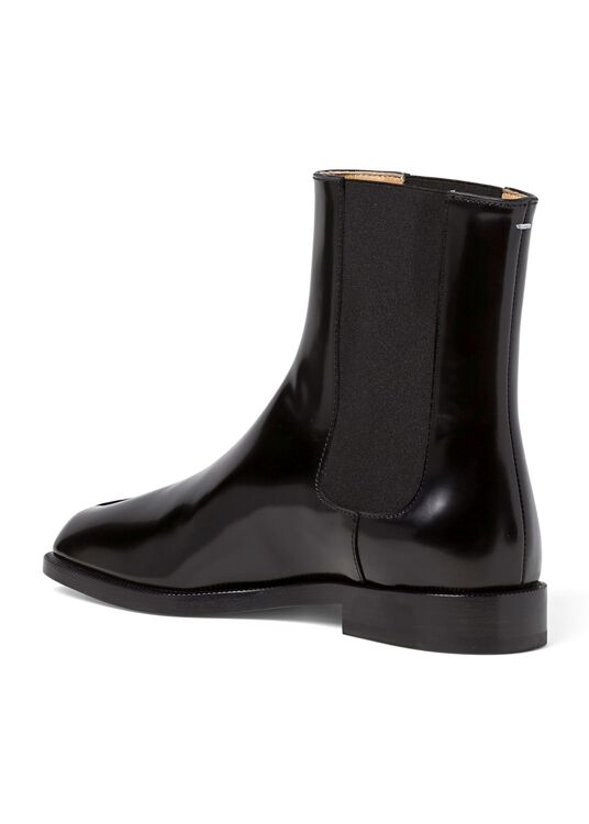 1_Chelsea Tabi Boot Brushed, Schwarz, large image number 2