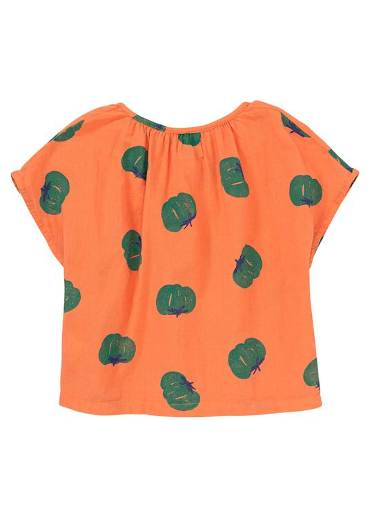 AOP Tomatoes Woven Top image number 1