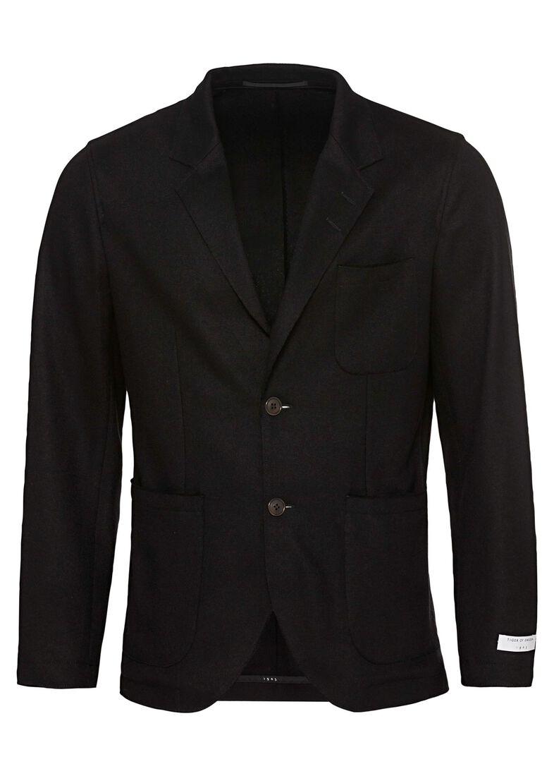 GASPARER   wool blazer men, Schwarz, large image number 0