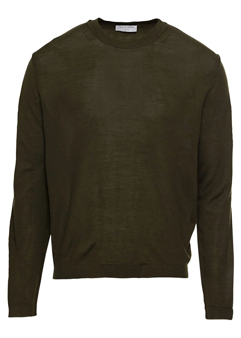 SPORE      Wool pullover male, Grün, large image number 0