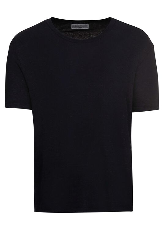 EMILE TEE PIECE DYED LINEN image number 0