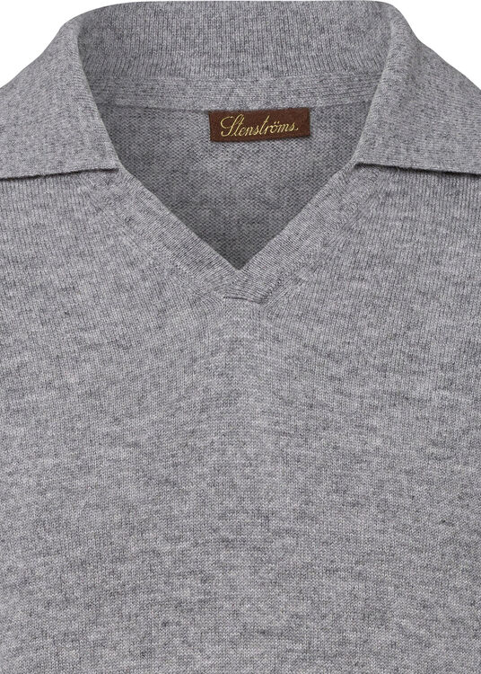 Cashmere Polo Shirt LS image number 2