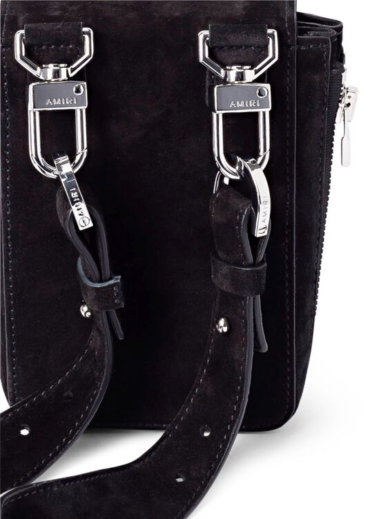 SUEDE HARNESS BAG image number 1