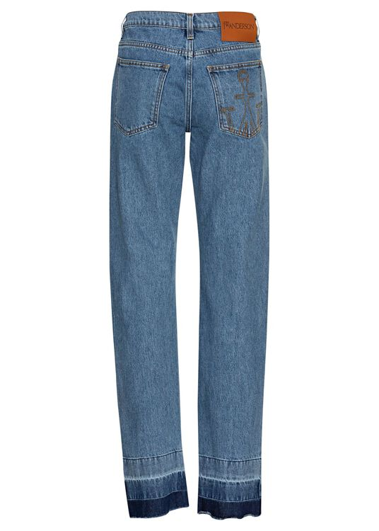 Raw Hem Slim Jeans image number 1