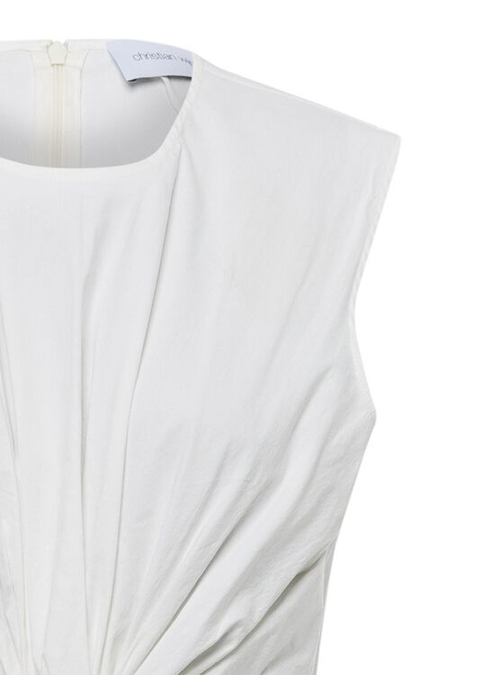SLEEVELESS DRESS WITH KNOT image number 2