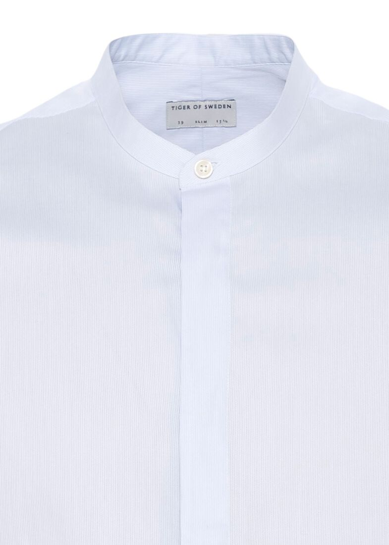FORWARD    shirt stand-up collar, Blau, large image number 2