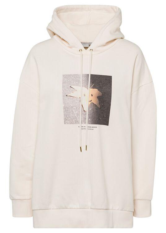 Hoodie Sweatshirt Faces In Places image number 0
