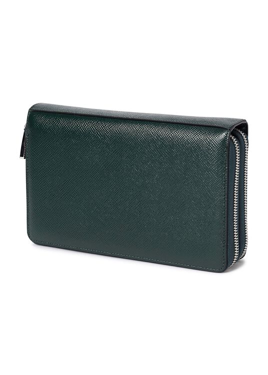 TRAVEL POCHETTE WITH DOUBLE ZIP EVOLUZIONE image number 1
