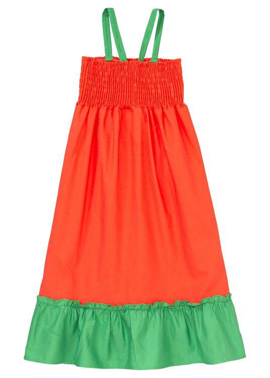 Woven smock dress image number 1
