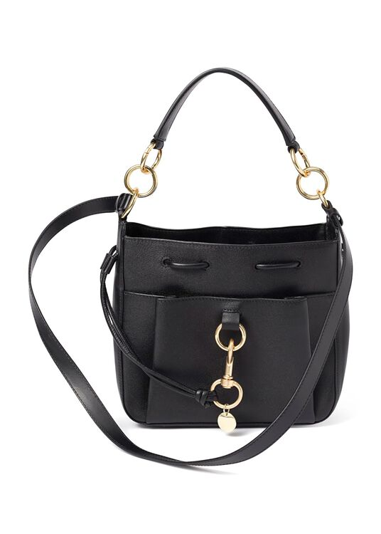 Tony Bucket bag large, Schwarz, large image number 0