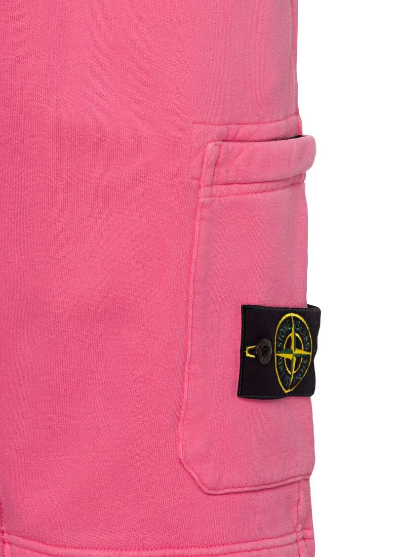 FLEECE SHORTS, Pink, large image number 2