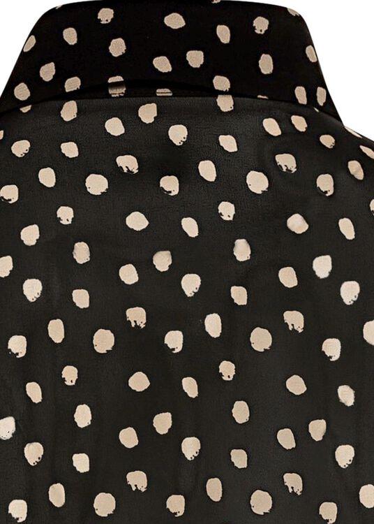 Bluse mit Dot-Print image number 3