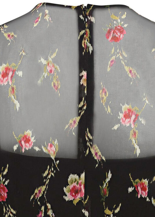 COORD. ABITO STAMPA SWEET ROSES, MUSSOLA image number 3