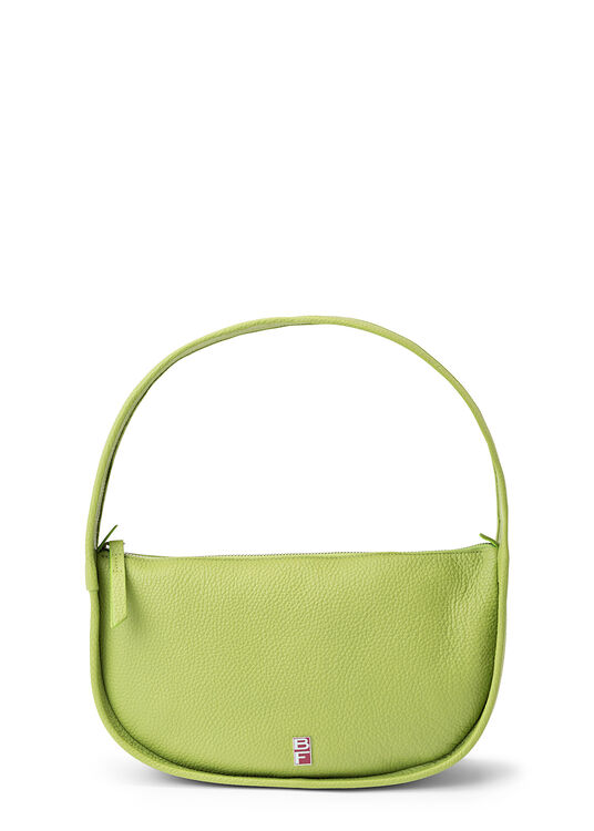 Mechi Lime Green Flat Grain Leather image number 0