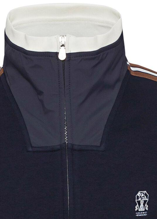 Cotton Jersey Zip Thru image number 2