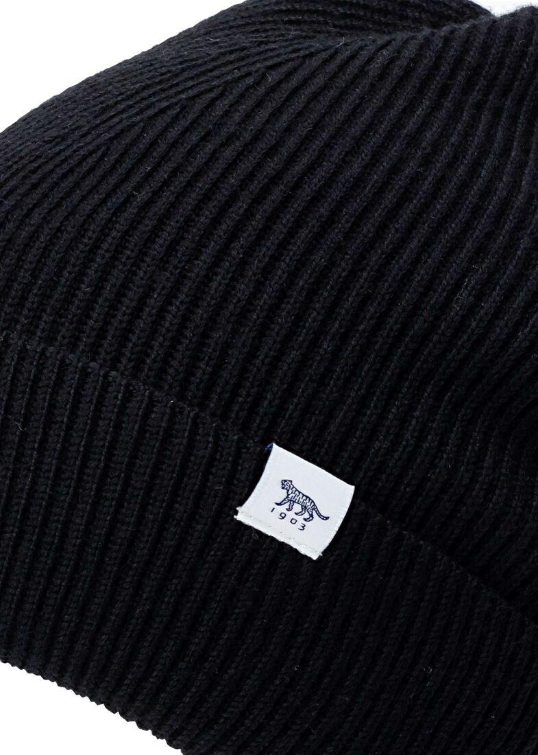 HEDQVIST 1 wool hat male, Schwarz, large image number 1