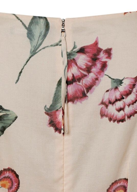 Shiftkleid mit Flower-Print image number 3