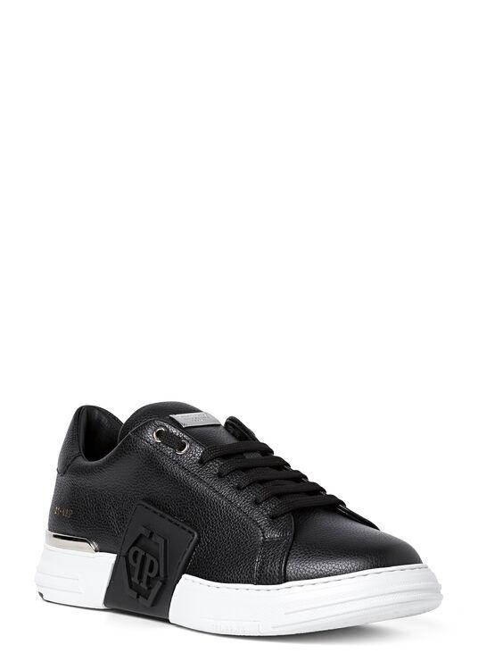 Leather PHANTOM KICK$ Lo-Top Sneakers rubber Hexagon image number 1