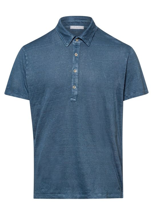 Leinen Jersey Polo image number 0