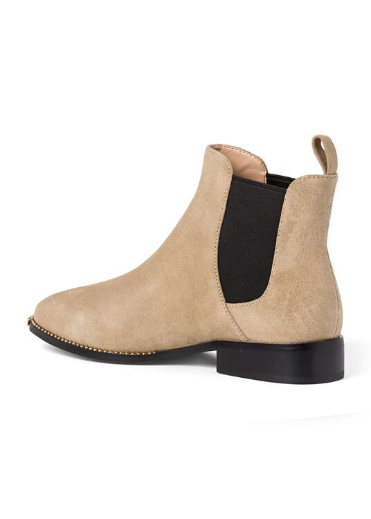 4_Nichole Chelsea Suede, Beige, large image number 2