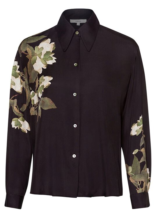 LISIANTHUS COLLARED BLOUSE image number 0