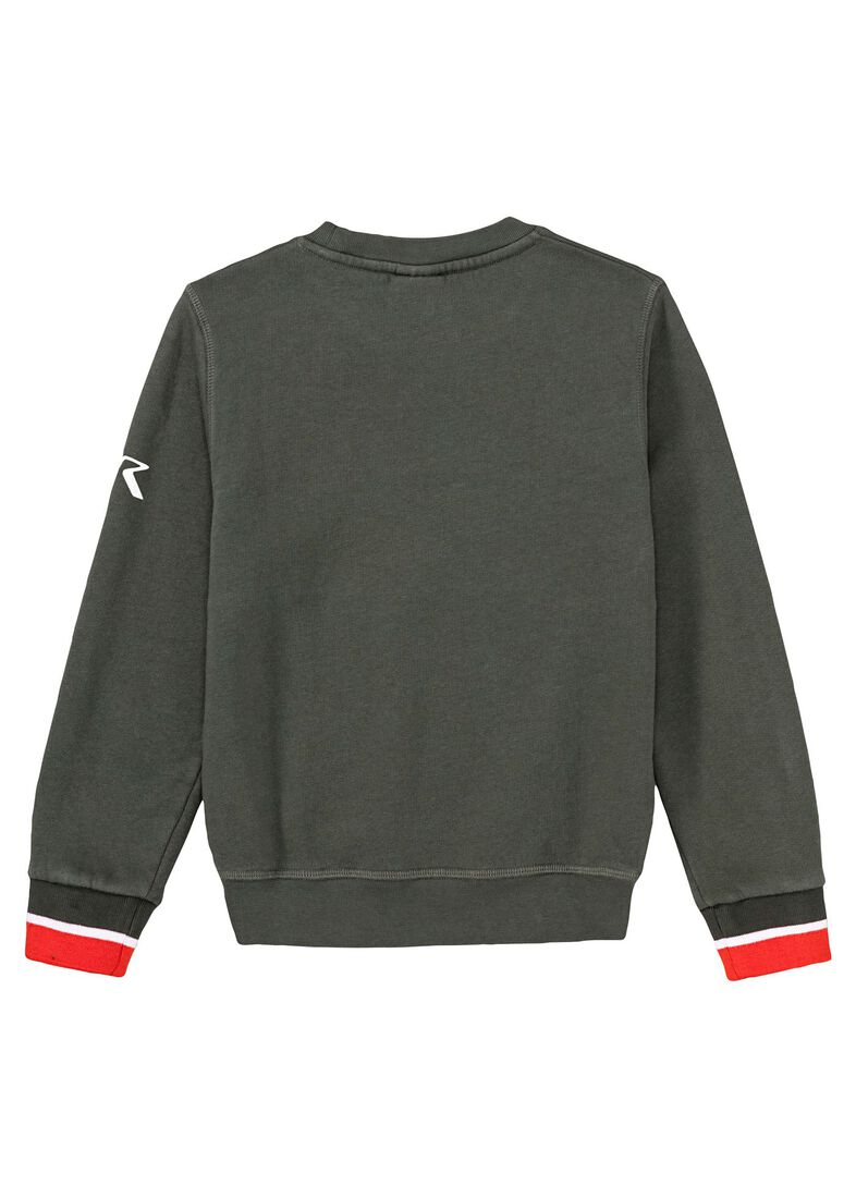 Crew Neck, Grün, large image number 1