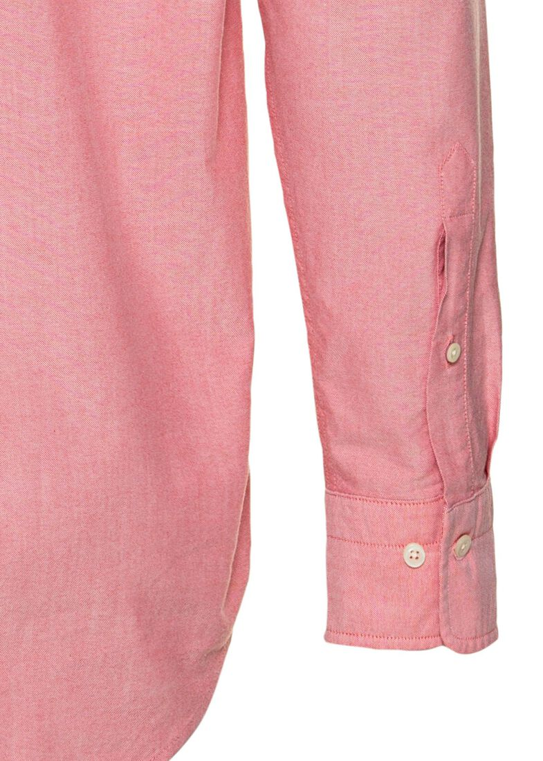 REG OXFORD SHIRT BD, Rosa, large image number 3