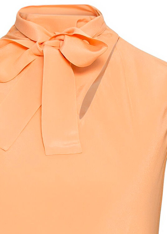 Sleeveless Silk Cdc Midi Dress image number 2