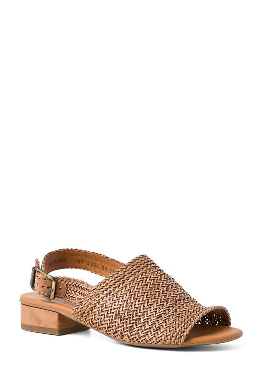 21_Woven Leather Sandal 20mm image number 1
