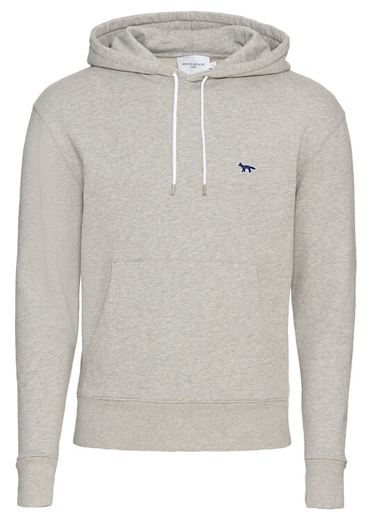 NAVY FOX PATCH CLASSIC HOODIE image number 0