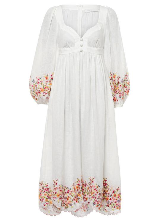 Mae Floral Midi Dress image number 0