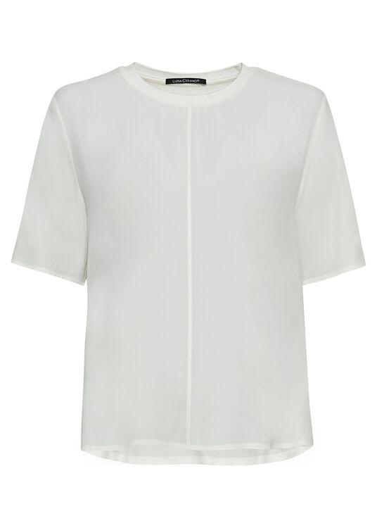 Shirt aus Seiden-Mix image number 0