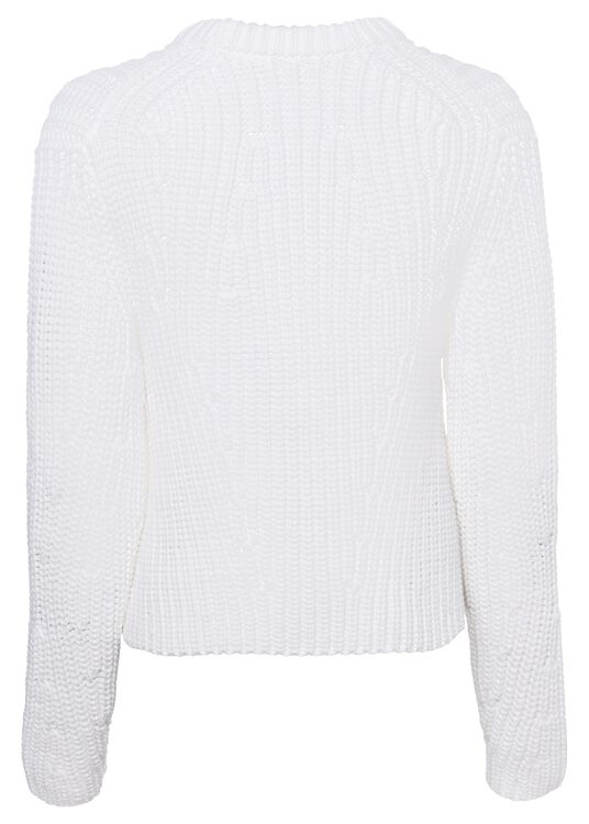 MIRRORED RIB PULLOVER image number 1