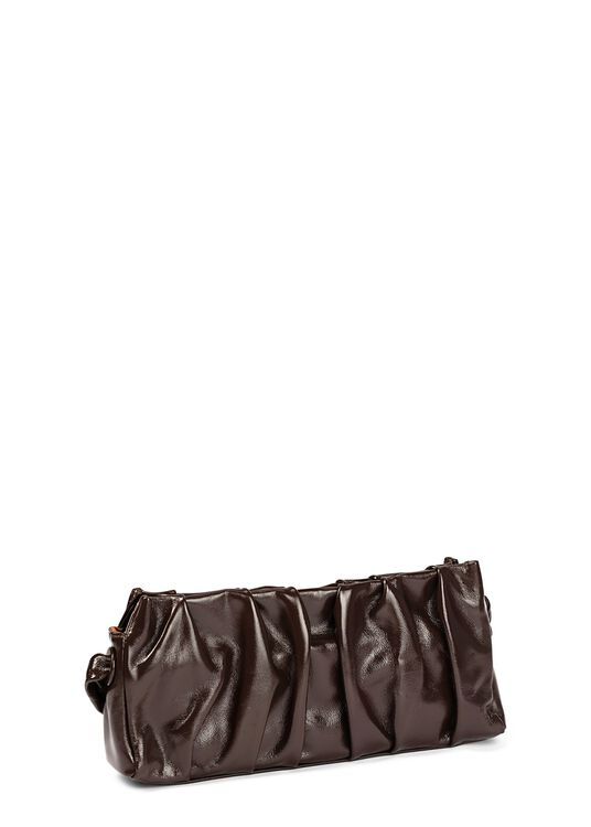 Long Vague Patent Baguette Bag image number 1