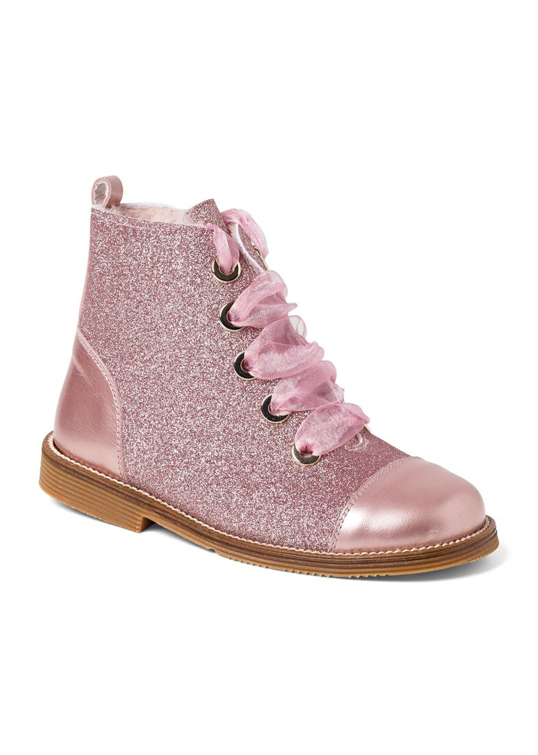 Wool Lines Glitter Boot, Rosa, large image number 1