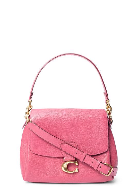 soft pebble leather may shoulder bag image number 0