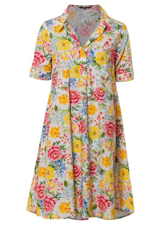 Fantastic flower collar dress image number 0