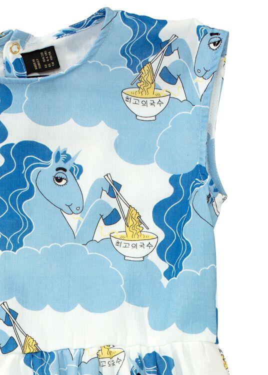 Unicorn noodles woven long dress image number 2
