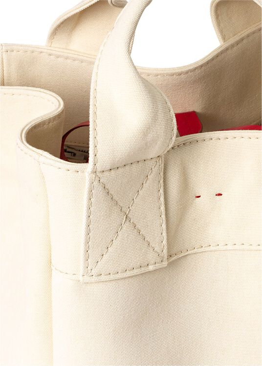 Alissa Canvas Tote image number 2