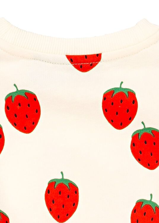 Strawberry AOP Sweater image number 3