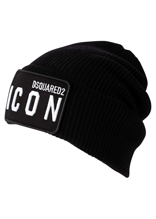 D2 ICON BEANIE-WOOL image number 0