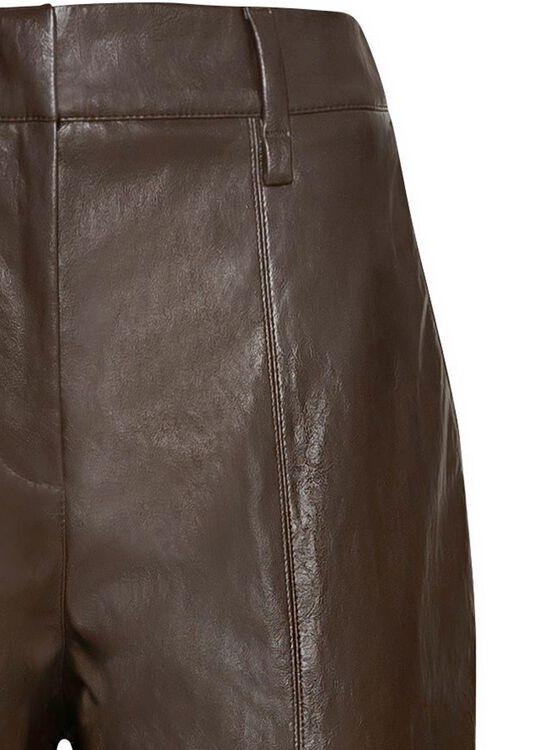 Tapered Pants in Leder-Optik image number 2