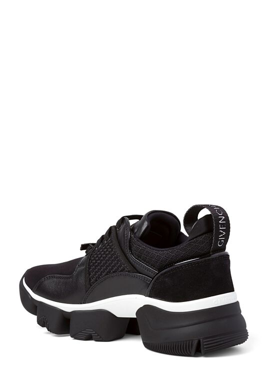 Jaw Low Sneaker Neoprene Mesh, Schwarz, large image number 2
