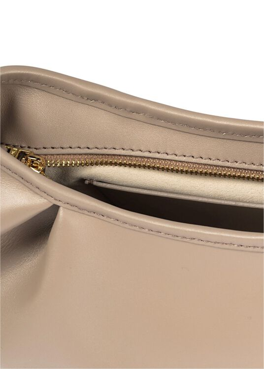 Dimple Leather Baguette Bag image number 3