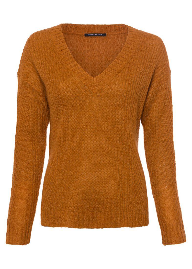 Pullover, Orange, large image number 0