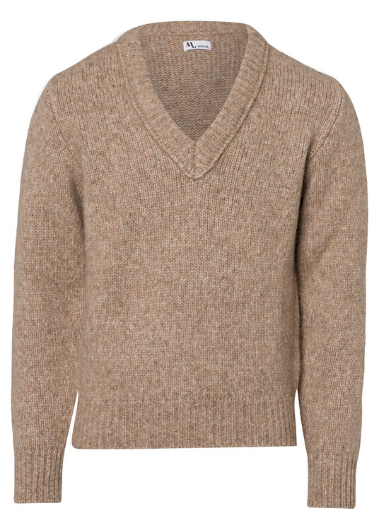 ROUND-NECKED SWEATER image number 0