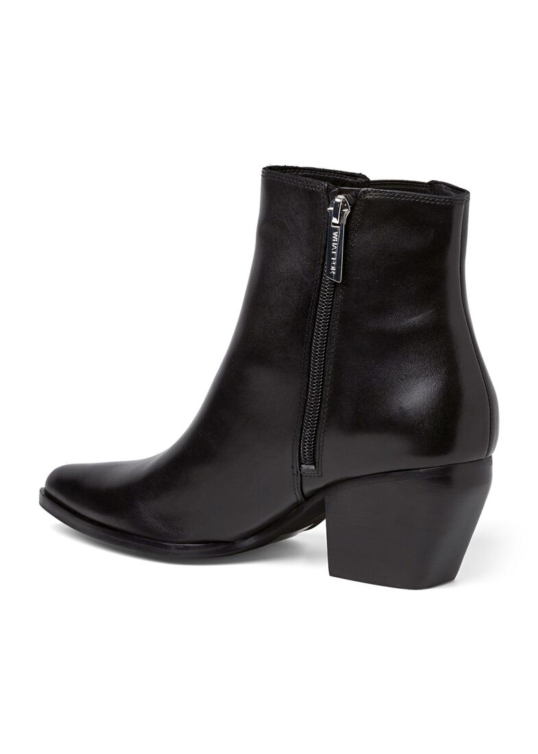 7_Scavo Pointy Boot Calf, Schwarz, large image number 2