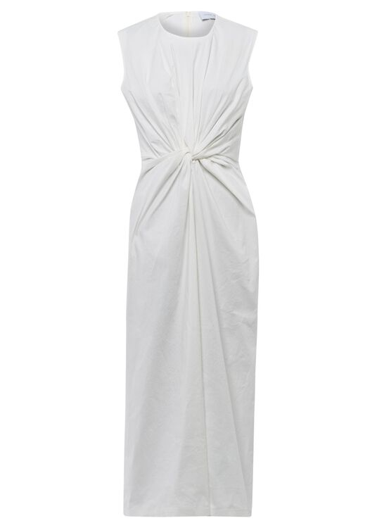 SLEEVELESS DRESS WITH KNOT image number 0