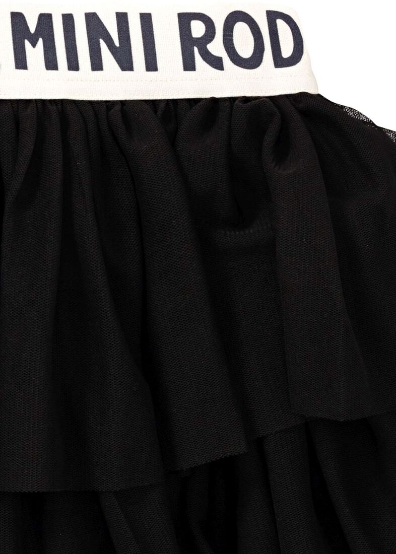 Tulle Skirt, Schwarz, large image number 3