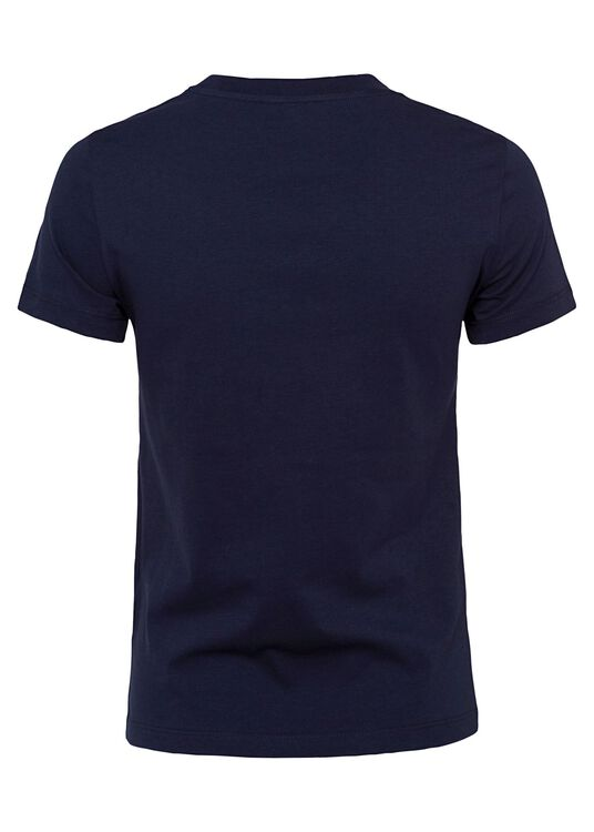 T-Shirt, Navy, large image number 1